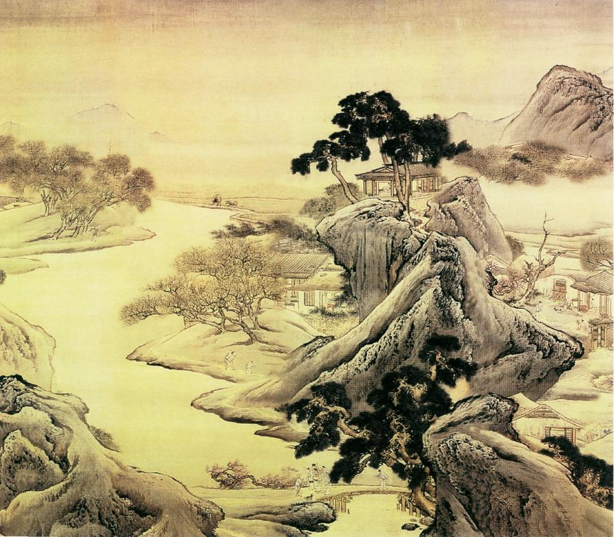 中国山水画特点