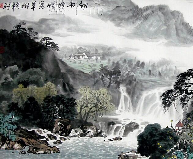 中国山水画的意境