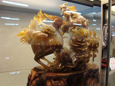 阜新玛瑙雕工艺特色