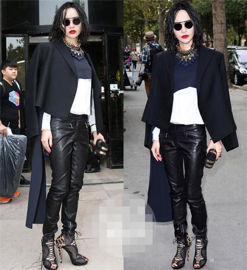尚雯婕将出战巴黎时装周 此次她将如何穿衣搭配?