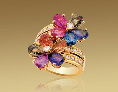 彩色蓝宝石产地