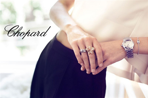 Chopard Happy Diamonds系列珠宝腕表广告大片