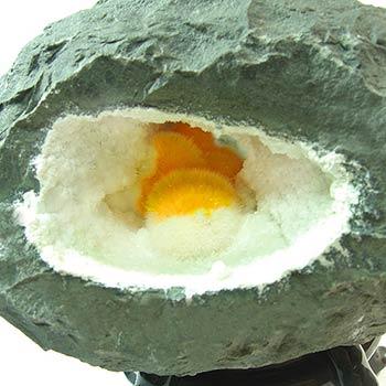 沸石晶体构造