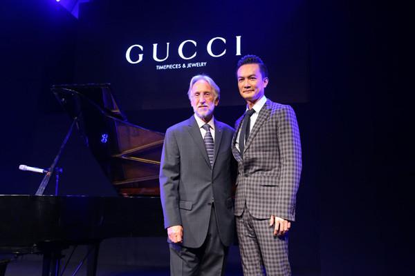 Gucci腕表首饰携手BMF为中国年轻音乐人提供支持