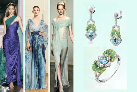2015春夏巴黎时装周为潮宏基珠宝带来灵感