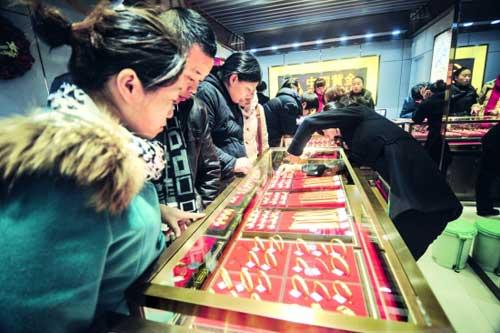 现在中国黄金多少钱一克