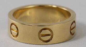 卡地亚戒指专柜价格