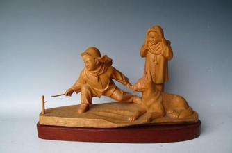 木雕工艺品图片