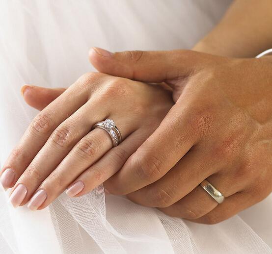 结婚戒指的戴法