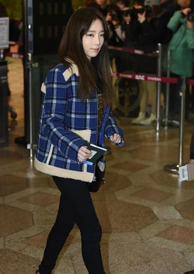 少时金泰妍冬装穿衣搭配技巧示范 矮个女孩也有春天