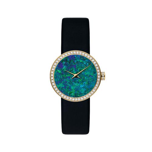 迪奥推出全新La D de Dior腕表 全球限量一枚