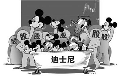 迪士尼概念股