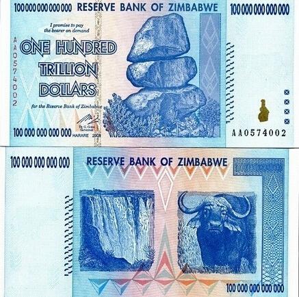 世界上最不值钱的货币