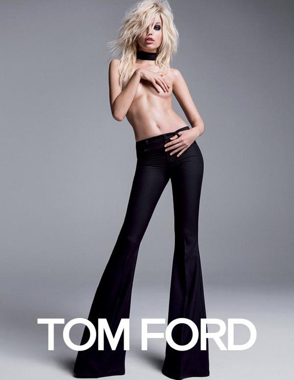 Tom Ford 服装品牌2015春夏系列广告大片曝光