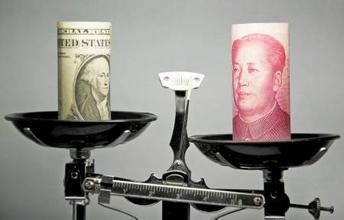 人民币对外升值对内贬值