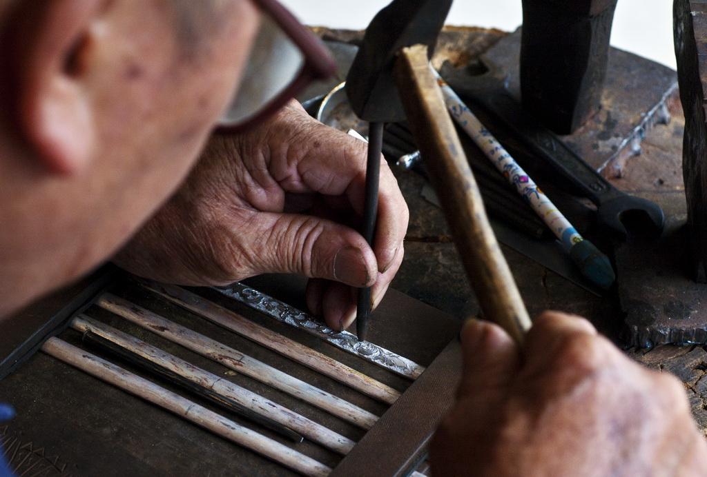 银饰制作方法