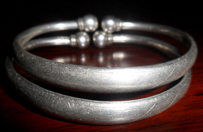纹银手镯值钱吗