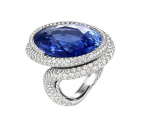 不同的宝石戒指,代表不同的爱情寓意