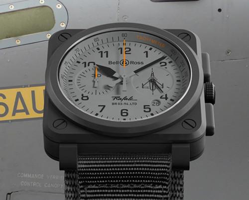 柏莱士推出全新BR 03-94 Rafale 腕表