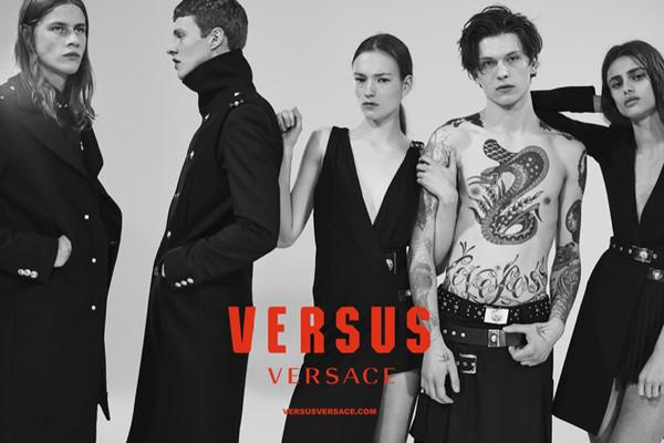 Versus Versace发布2016春夏系列广告大片