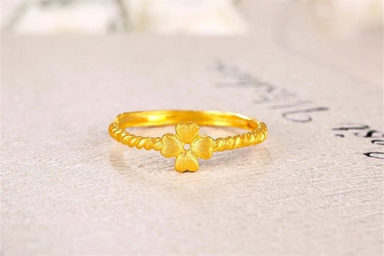 爱迪尔珠宝四叶草结婚定制钻石戒指_珠宝图片