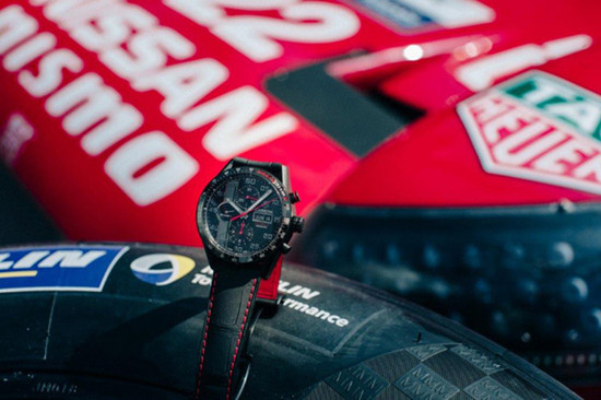 TAG Heuer倾力支持勒芒24小时耐力赛