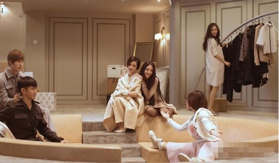 《小时代4》顾里Queen B领衔富家女的豪华试衣间