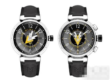 路易威登Tambour系列再添全新VVV腕表