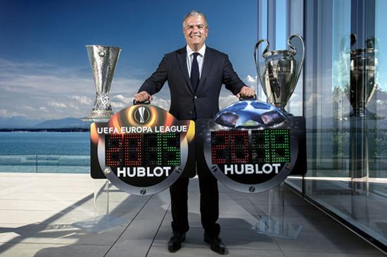 宇舶表成为欧洲足球协会联盟官方腕表合作伙伴