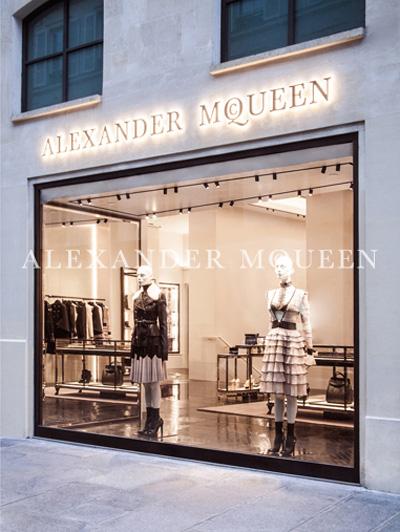 Alexander McQueen巴黎首家旗舰店正式开幕