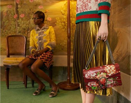 Gucci(古奇)释出2016早春度假系列广告大片