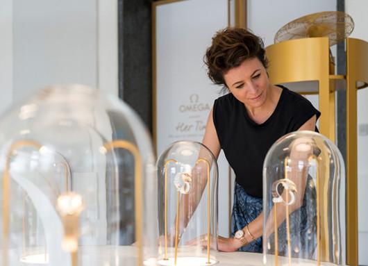 Garance Dore携手欧米茄创作首批专属于女性的故事