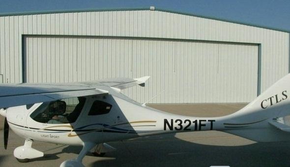 热门飞机CTLS轻型私人飞机配备机体降落伞