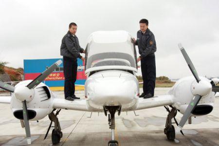 宁波人学私人飞机驾照仅收25万 外地人加3万