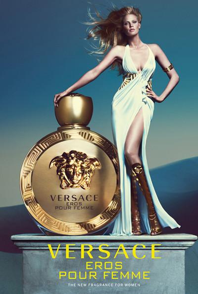 范思哲推出全新「Eros Pour Femme 爱罗斯女士」淡香精