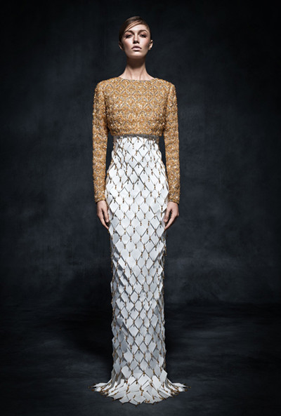 Swarovski于迪拜发布2015高定时装系列时尚型录