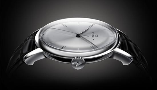 真力时推出全新Elite 6150超薄腕表