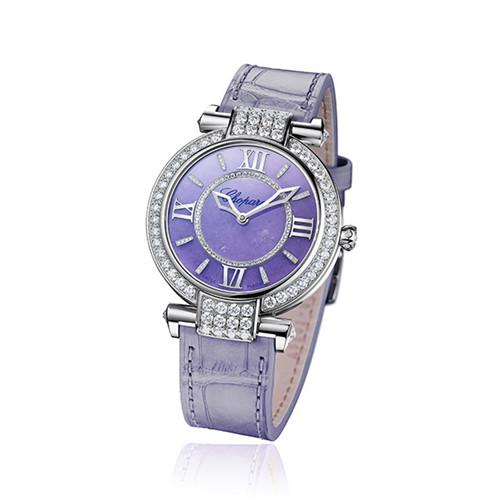 萧邦推出Imperiale系列薰衣草紫色玉石腕表