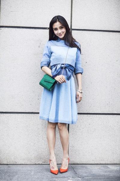 2016年服装流行趋势示范 粉水晶和宁静蓝成主色