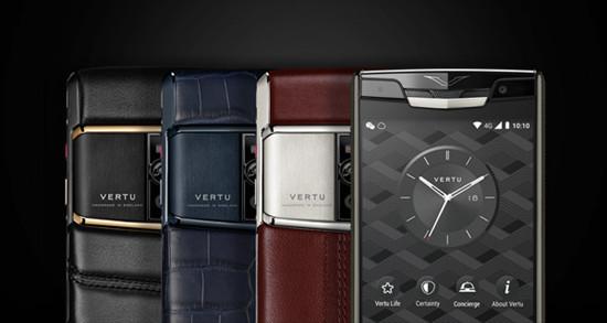 Vertu推出全新Signature Touch高性能奢侈品手机