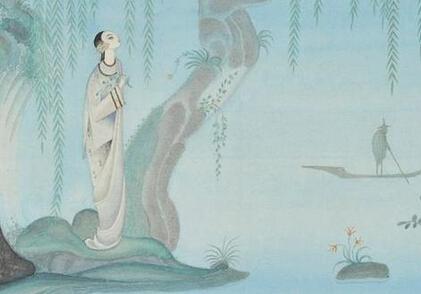 安徒生童话中国元素插画《夜莺》卖31万元
