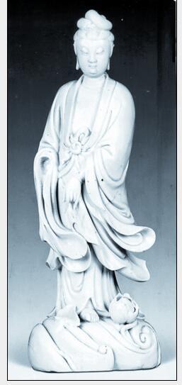 德化窑收藏与鉴赏:渡海观音立像