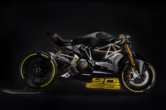 杜卡迪推出全新Ducati draXter Concept概念摩托车