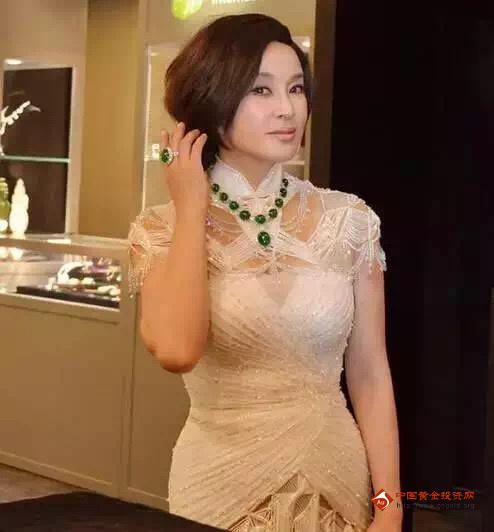 刘晓庆私人收藏的千万极品翡翠