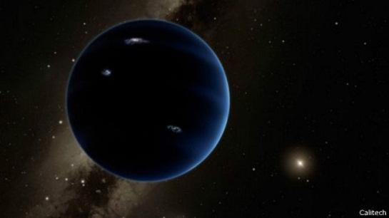太阳系有第九颗行星 可能是一颗冰冻行星