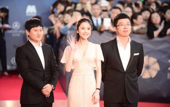 张慧雯佩戴ASTER MA珠宝品牌定制款亮相北京电影节