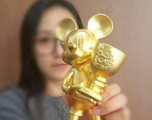 老凤祥联手迪士尼 卡通系列黄金首饰受追捧