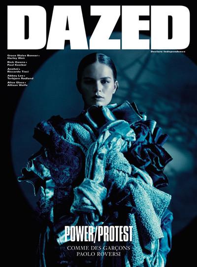 超模Anna Ewers登上《Dazed》杂志春夏刊封面