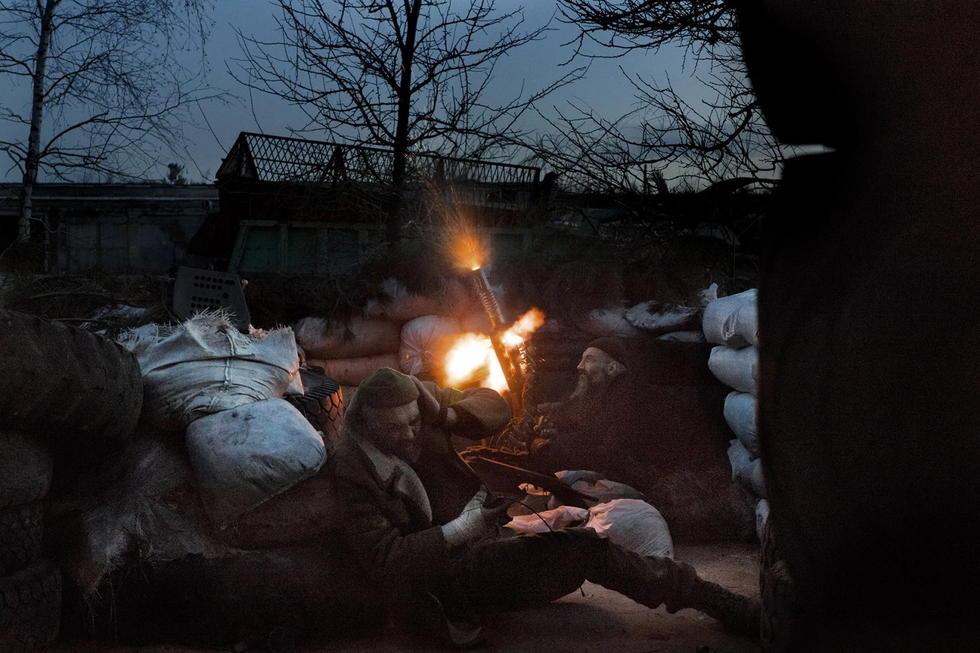 揭秘乌克兰前线志愿军 为了保卫自己的祖国