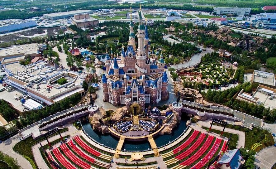上海迪士尼开幕最新报道